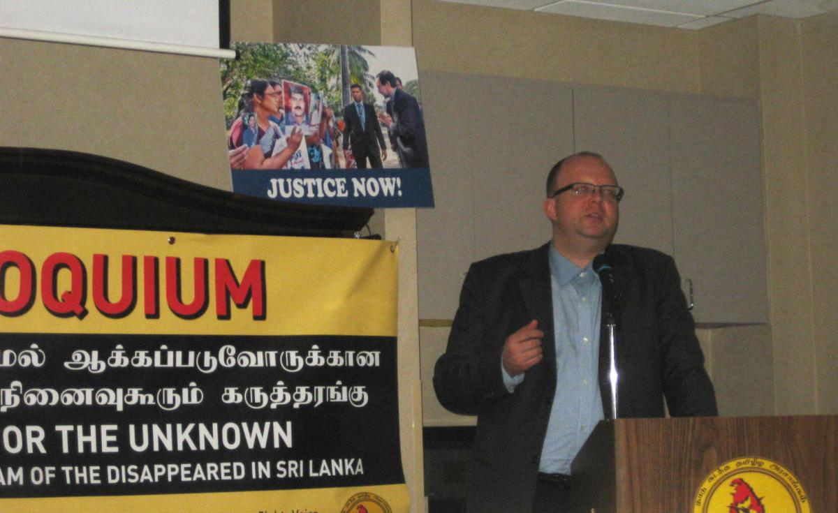International Day of the Disappeared commemorated in Canada | Tamil