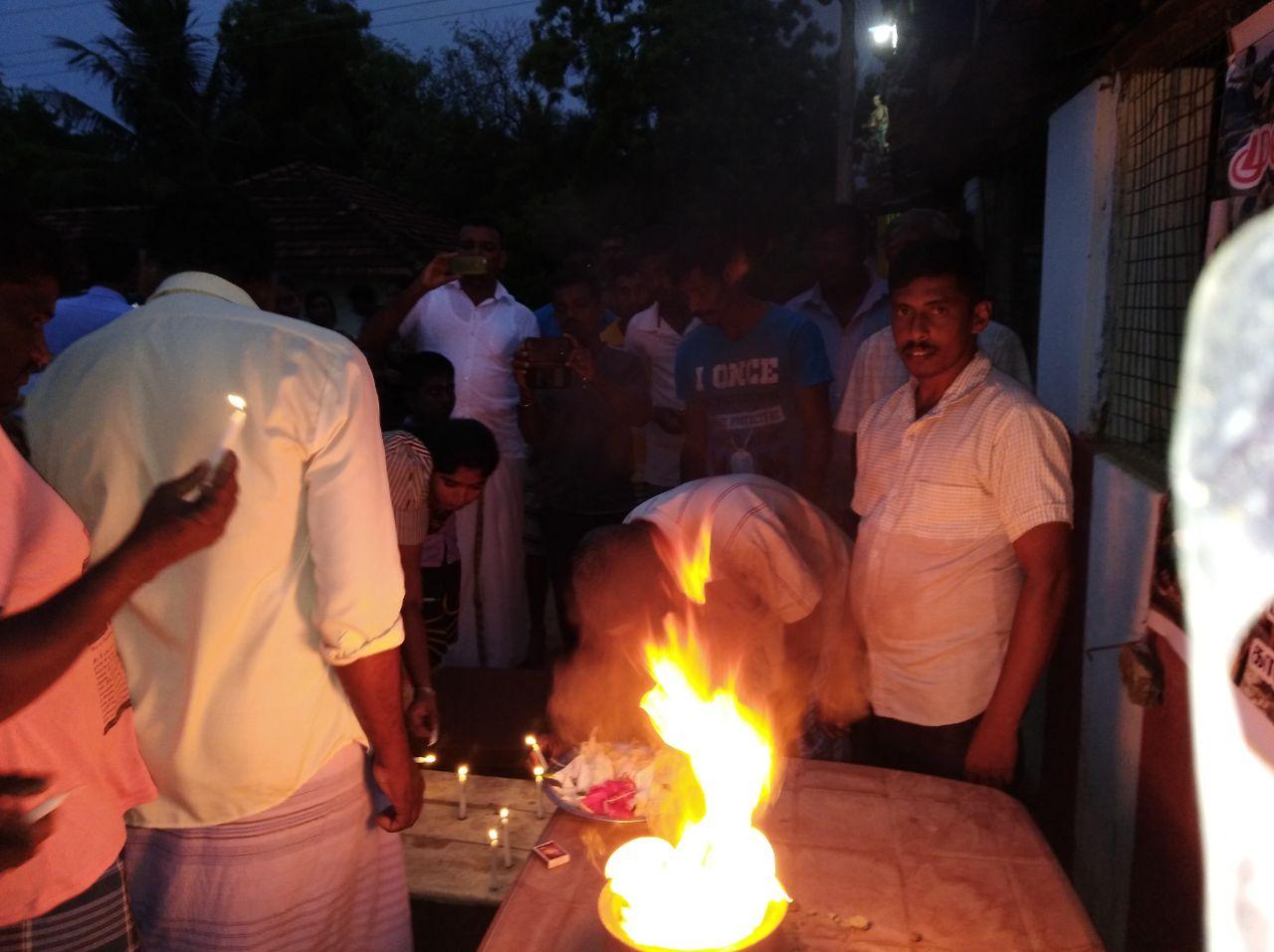 Tamils hold prayers in Batticaloa to remember Mullivaikkal