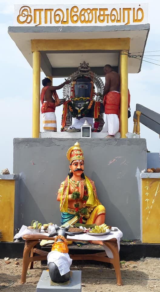 Temple for Tamil king Ravanan opened in Jaffna | Tamil Guardian