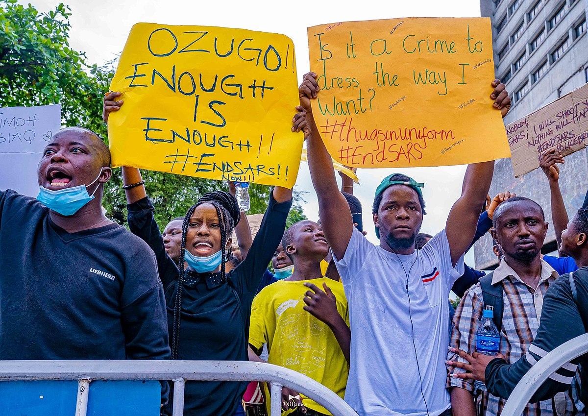 #EndSARS: Activist explains movement, Nigeria protests against police brutality