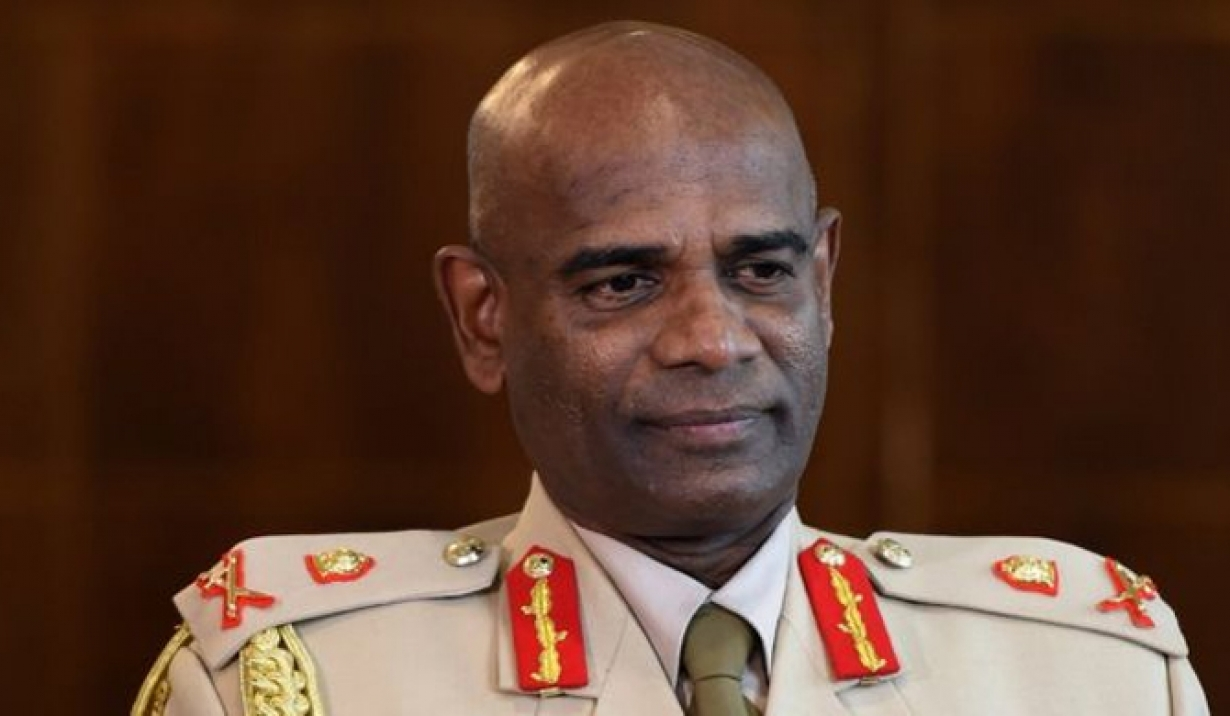 Sri Lanka's army commander says working with India on