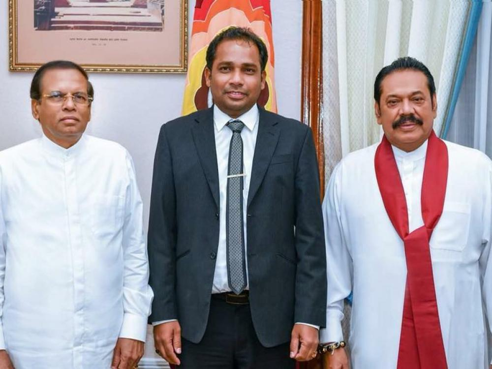 TNA MP joins govt. with UNP's Nawinne