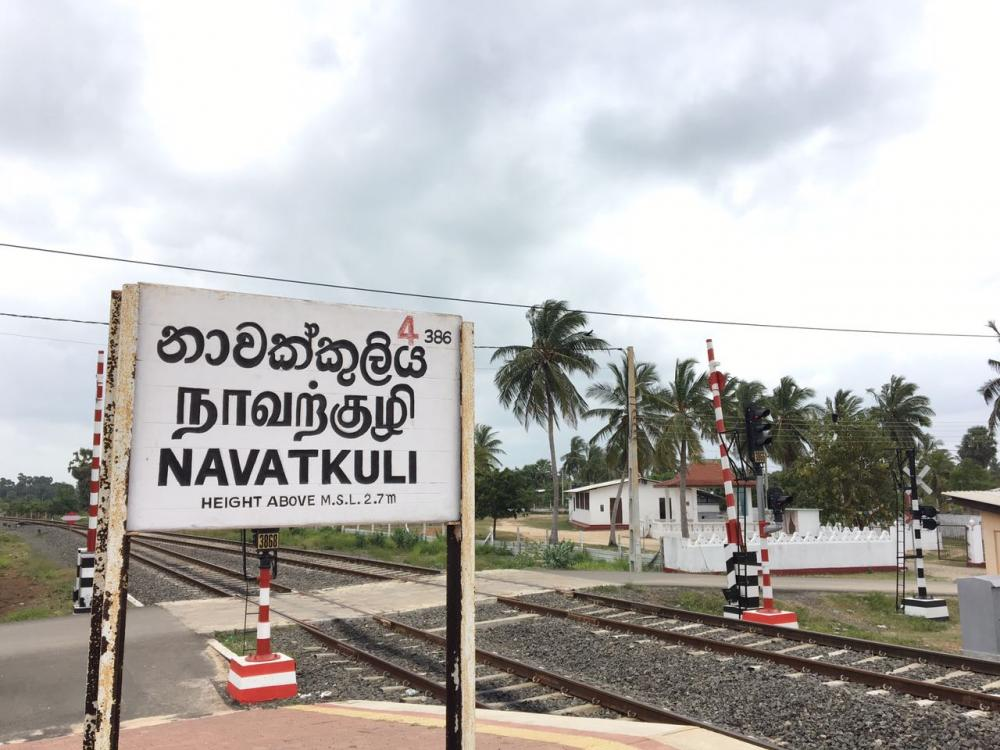 Large-scale Sinhala housing project underway in Naavatkuli